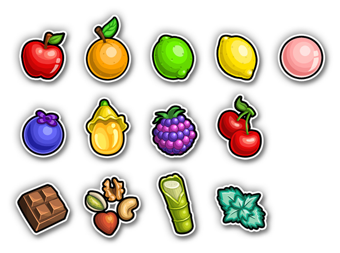 Sweet Shop Icons