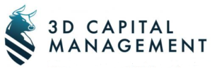 3D Capital Managment logo of Bull and Shield