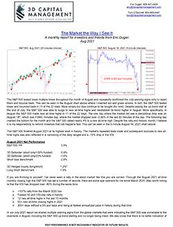S&P 500 market updates