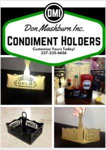 Condiment Holders -