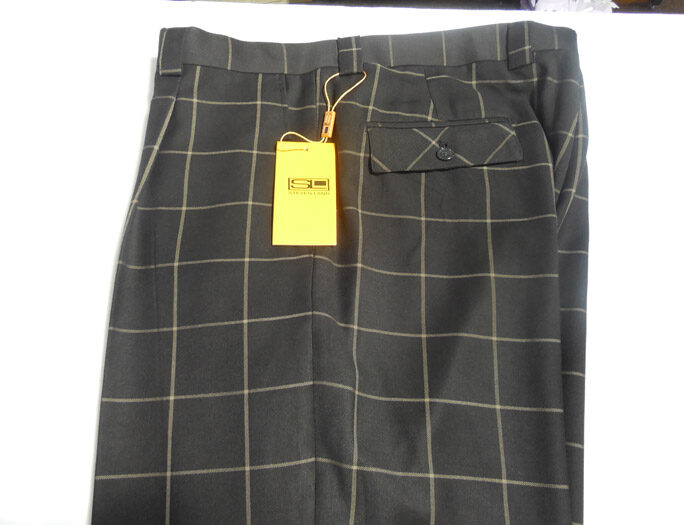 STEVEN LAND PANTS:STYLE- MAXWELL- SL77 BROWN