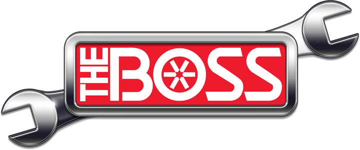 Corporate Identity Logo - BOSS Snowplows, Iron Mountain Michigan