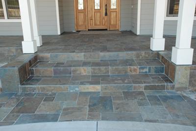 Slate Tile Patio Gallery Geoland