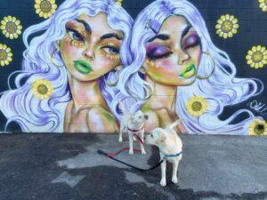 Downtown Denver Two Women Mural