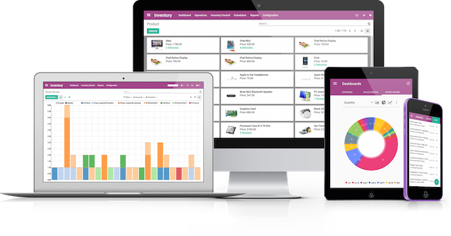 Odoo Software de gestión empresarial ¿Por qué elegirlo?