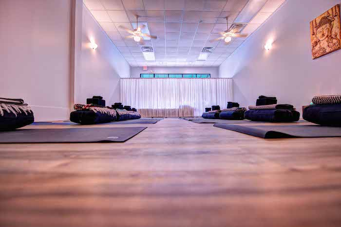 Yoga Studio Floor at Daily Yoga