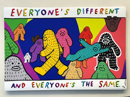 Everyone's different — and everyone's the same