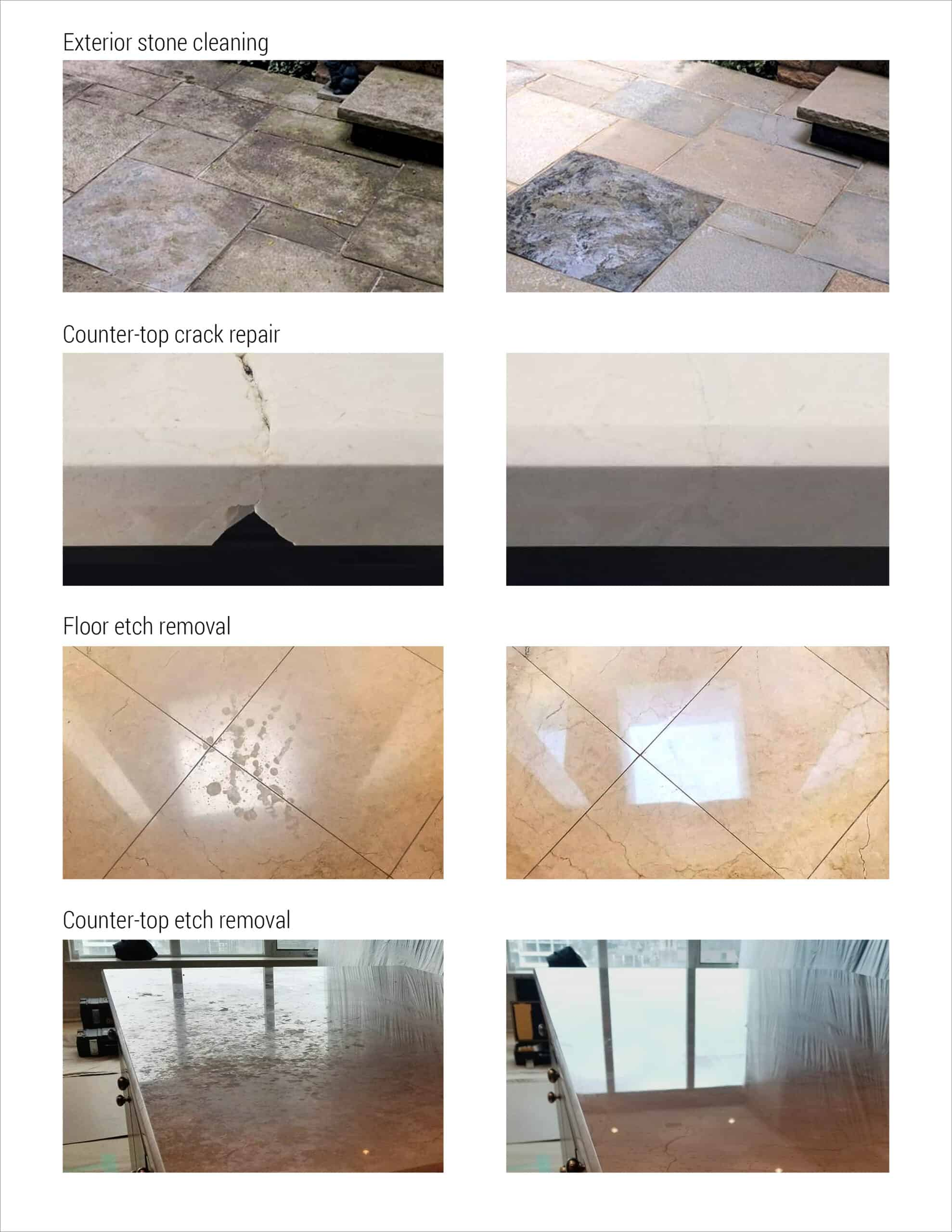 Marble Repair  Chip and crack repair  Marble polishing Marble restoration