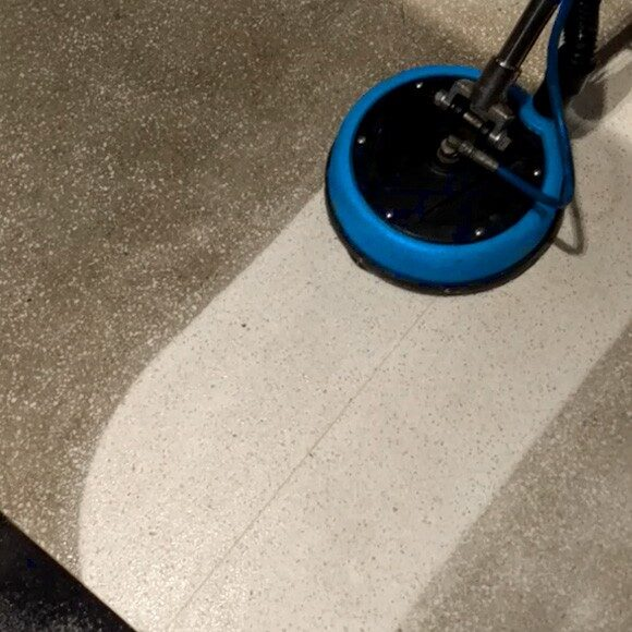 High pressure commercial cleaning