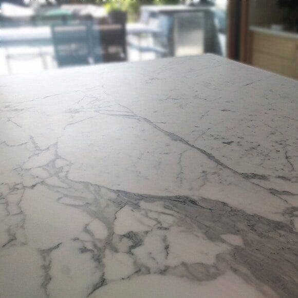 Marble honed counter-top repair