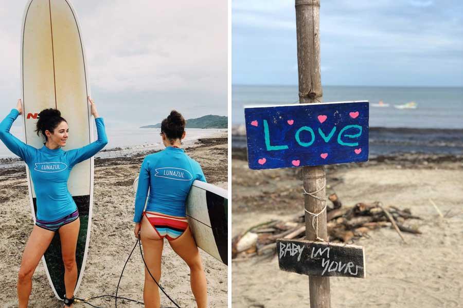 Surf School Retreat in Sayulita Mexico