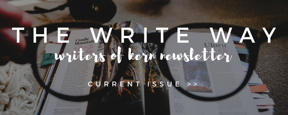 The Write Way | Writers of Kern Newsletter current issue