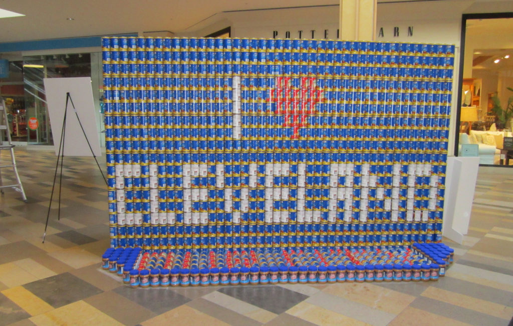 BPA Fights Hunger in 2013 Cleveland CANstruction