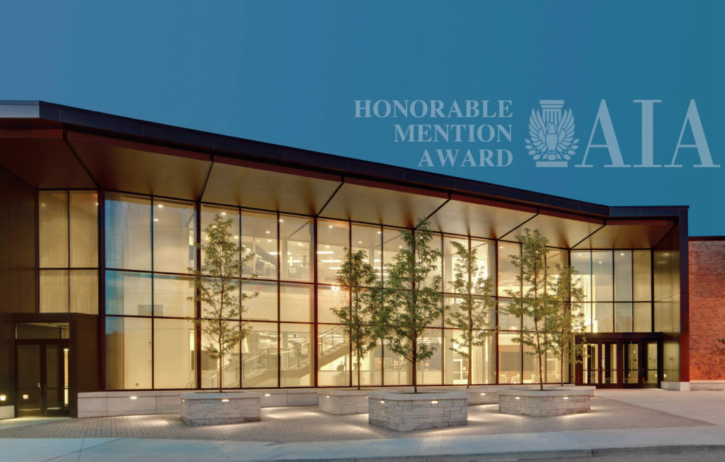 LCCC Culinary Arts Design Receives AIA Honorable Mention Award