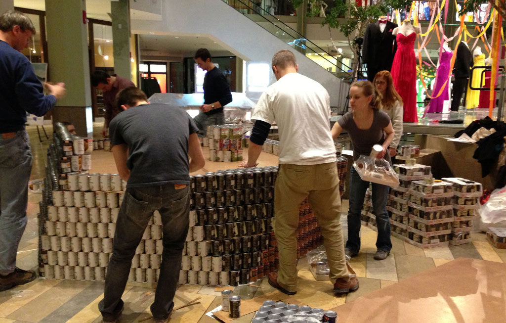 Fight Hunger in 2014 with Bialosky + Partners and CANSTRUCTION 2014