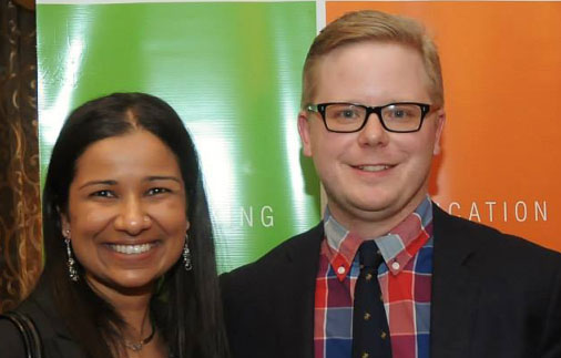 Jill Christoff and Ted Ferringer named Top 25 under 35 in Northeast Ohio