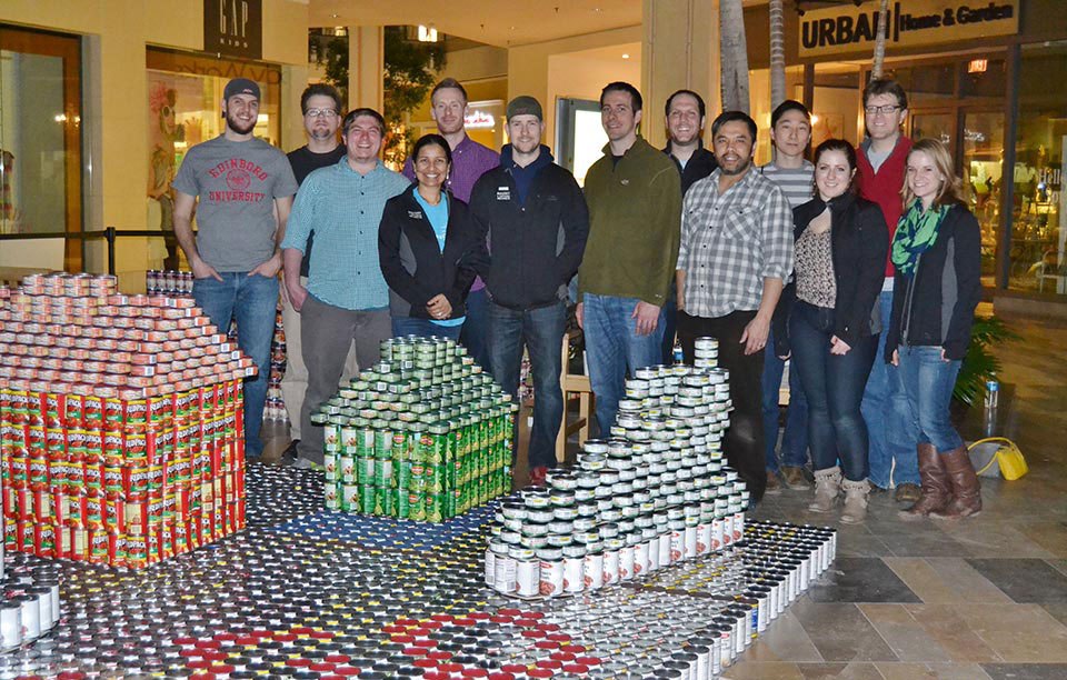 Canstruction: Bialosky takes home People's Choice Award!