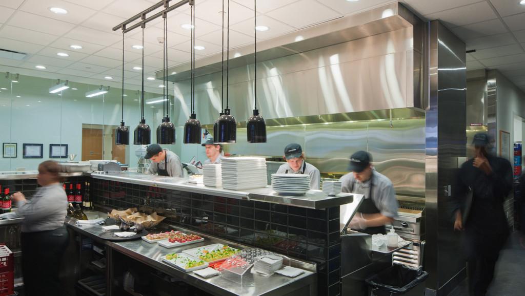Pura Vida Restaurant Kitchen