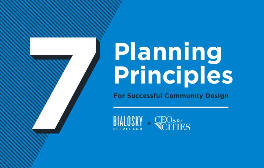 Seven Planning Principles For Successful Community Design