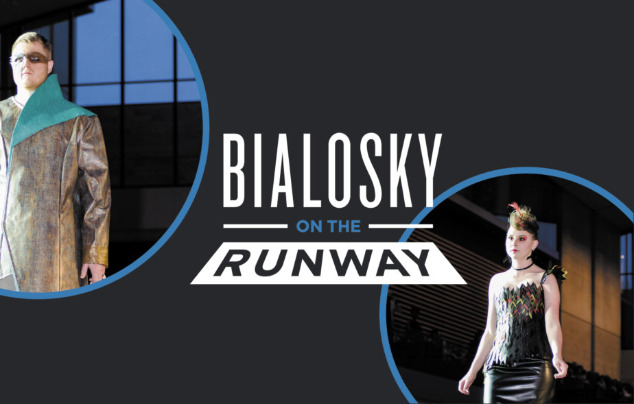 Bialosky on the Runway