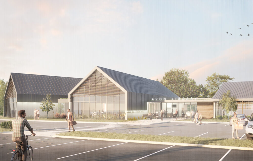 An Agricultural Past Inspires A Modern Public Library