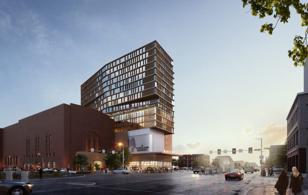 Masonic TempleLive Hotel to Create  Dynamic Presence in Midtown