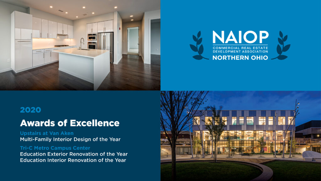 Metro Campus Center and Upstairs at Van Aken Earn Awards of Excellence