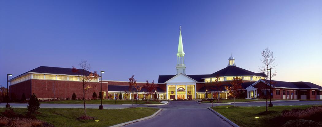 Hudson Community Chapel – 2001 – with Jack Jr