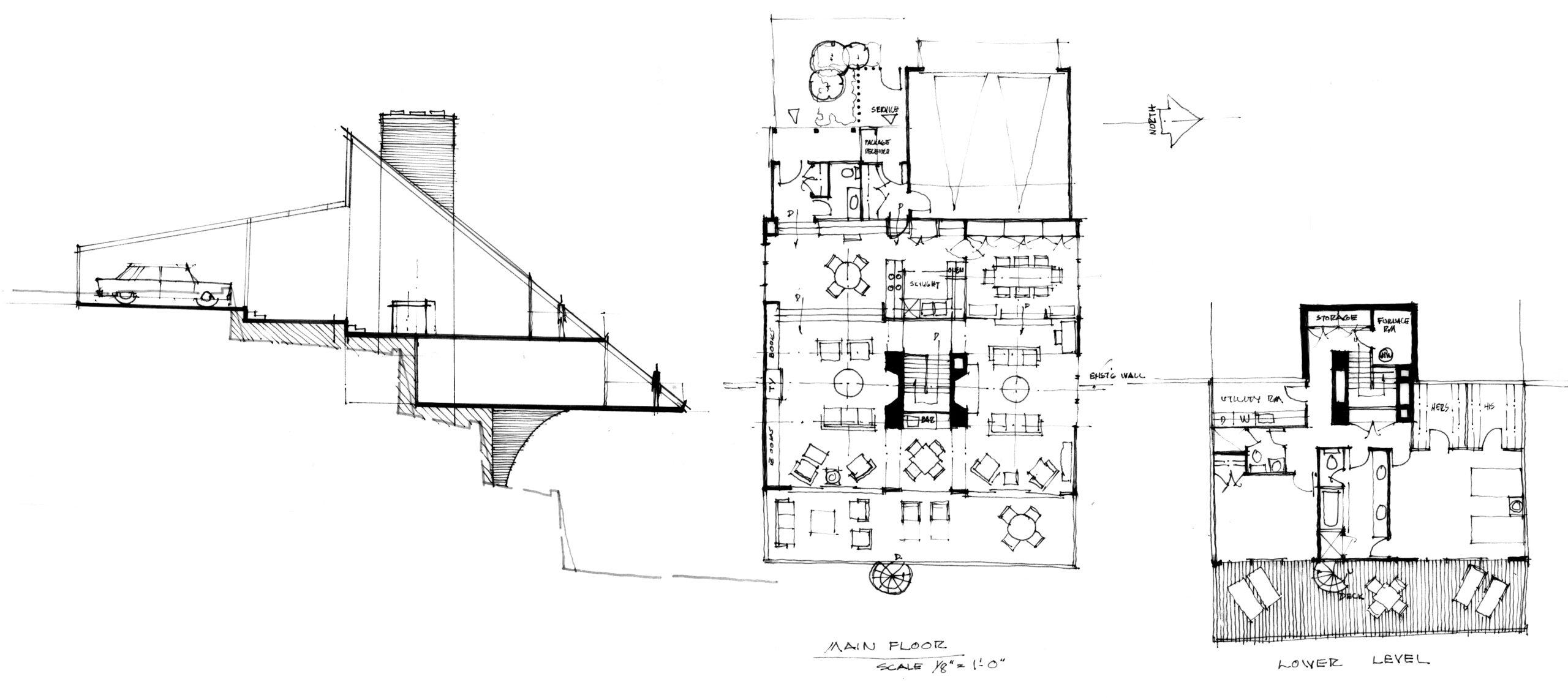 Miller Residence – Drawings – 1989