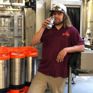 It wouldn't be Tuesday without our latest Meet the SKB Crew: Tyler D  1️⃣ Tyler's been with SKB for nearly 6 years. He started out as a keg washer and recently moved into the centrifuge operator. What's that you say, well the centrifuge spins beer! ☝🏻🖐🏼🍺 • • 2️⃣ You can find Tyler sipping on a Pachanga or Osiris along with the other #shiftyboys after the work day is done.🍻 • • 3️⃣ Tyler is an avid concert goer! He's probably seen more live music than you, including a lot of @widespreadpanichq. He also has a son named Osiris. 🎧🎸👦🏻 • • 4️⃣ Tyler enjoys working for an #independentbrewery and he looks forward going into work each and everyday. 🌞👑🍺 • • 5️⃣ If he wasn't working for SKB, you'd find him touring with @phish or #panic. 🚙🛸⛺️ #meettheskbcrew #sunkingbrewery #forcraig #osiris #paleale #wheresmarty #cheers2tenyears