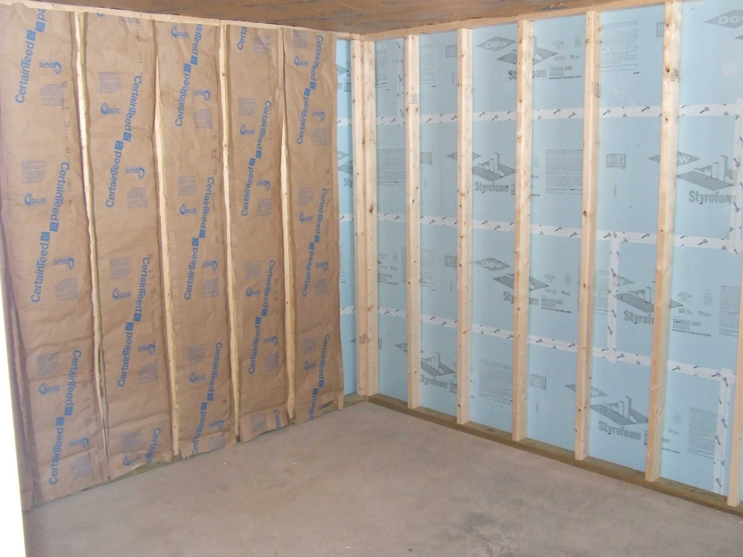 Floor insulation st  louis, Basement insulation st  louis