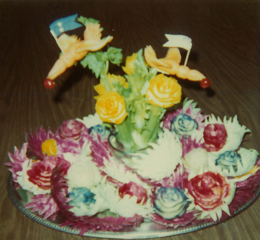 Edible Centerpiece, The Nerona Family, San Diego, CA, USA