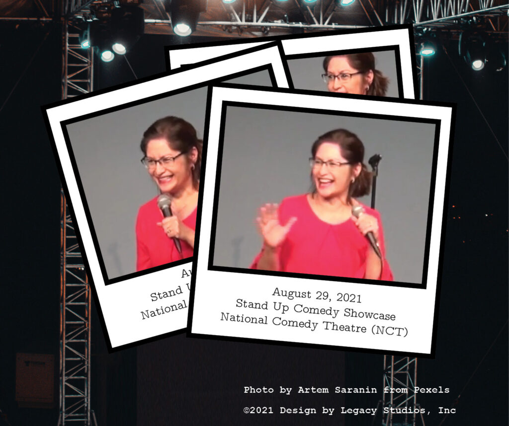 Edna Nerona, August 29, 2021, Stand Up Comedy Showcase, National Comedy Theatre (NCT)