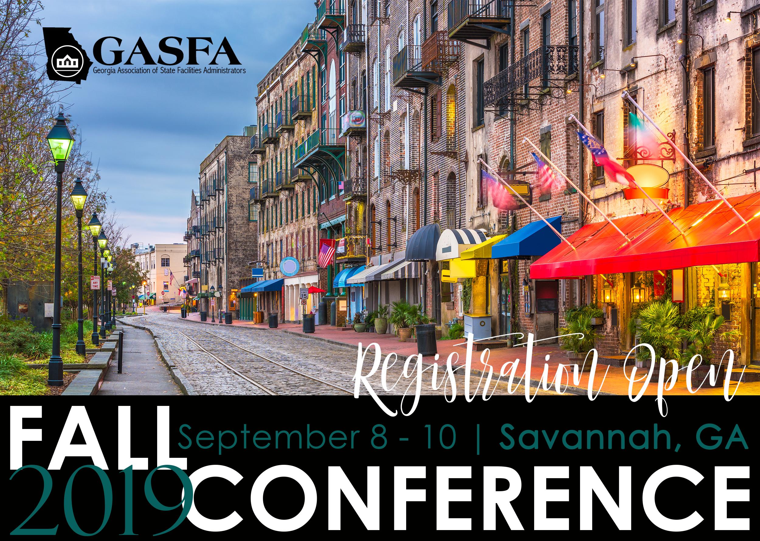 Fall 2019 GASFA reg-open