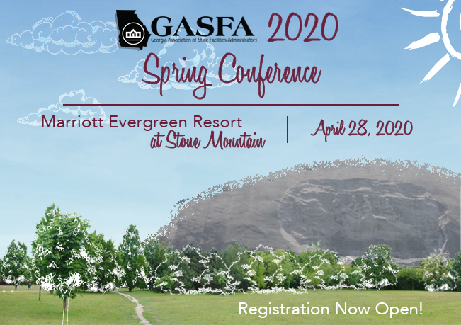 GASFA SPRING 2020 REGISTRATION OPEN
