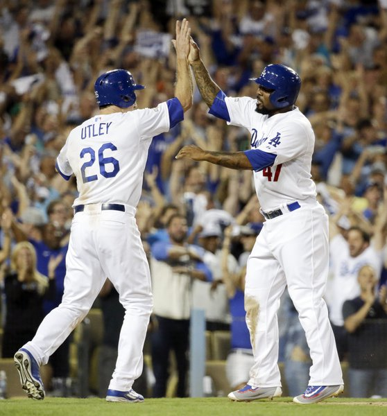 Chase Utley and Howie Kendrick