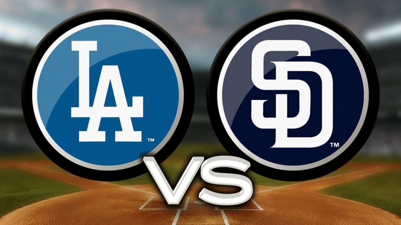 Dodgers vs. Padres
