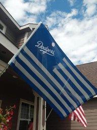 Dodgers US Flag