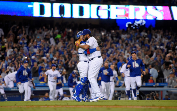 Dodgers Clinch 2017
