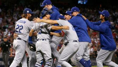 Dodgers Win NLDS
