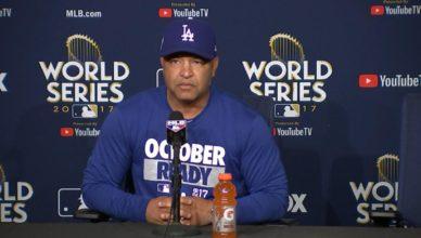 Dave Roberts World Series