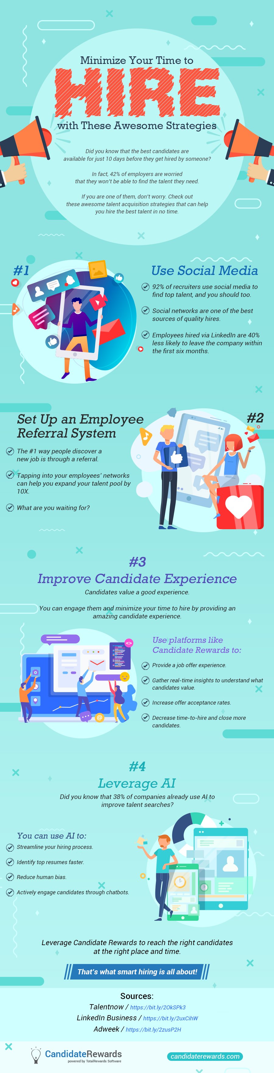 Minimize Your Time to Hire with These Awesome Strategies (Infographic)