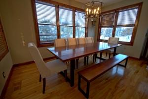 Custom Dining Table Minneapolis Furniture Maker
