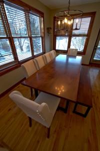 Custom Dining Table South Minneapolis