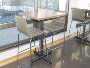 10 Walnut High Top Tables - Four Fields Furniture MN 55118