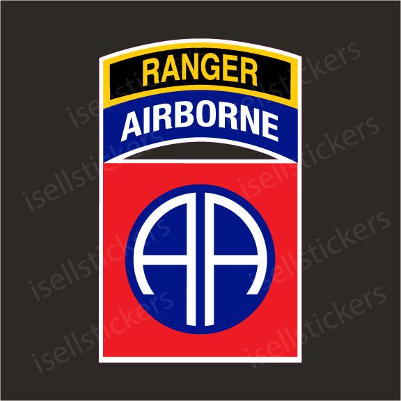 82nd Airborne Ranger Army Decal Sticker