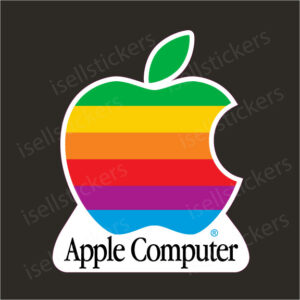 Apple Stickers Decals Computers Software