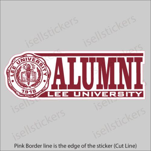Lee University Alumni Window Bumper Sticker Car Decal