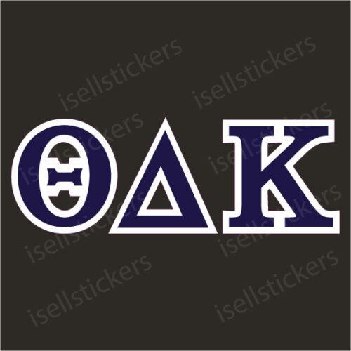 Lee University Theta Delta Kappa Standard Window Bumper Sticker Car Decal
