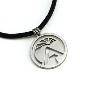 Tarma Appalachian Trail AT Charm Jewelry Pendant with Polycord